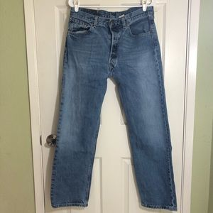 Men's Levi's classic 501 button fly jeans 34x30